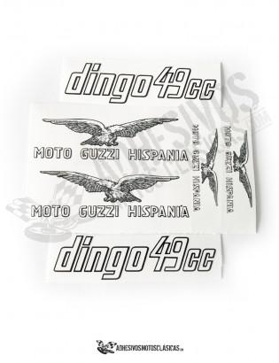 MOTO GUZZI Dingo 49cc Stickers