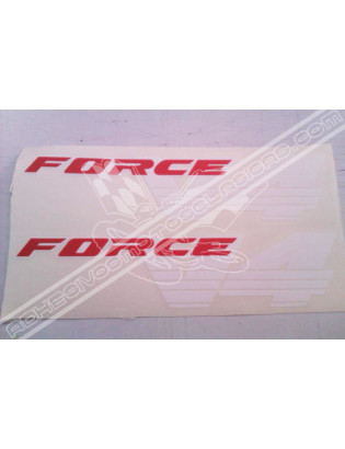 Adhesivos HONDA Force V4