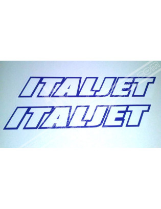 ITALJET 16cm Stickers