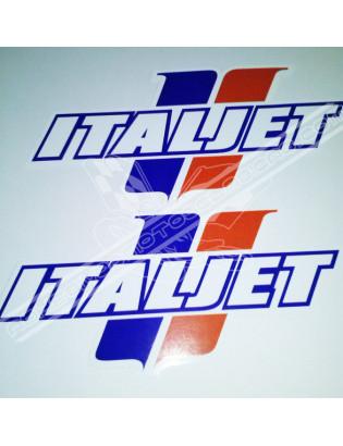 ITALJET 12cm/17cm Stickers