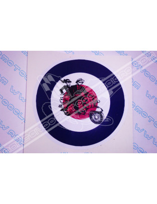 VESPA-LAMBRETTA Sticker