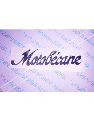 MOTOBÉCANE Sticker