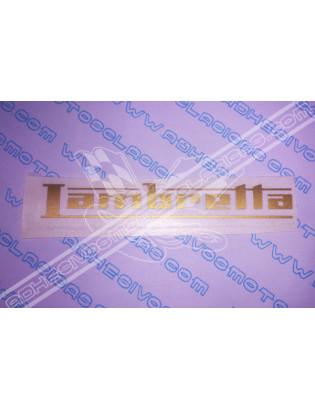 Adhesivo LAMBRETTA