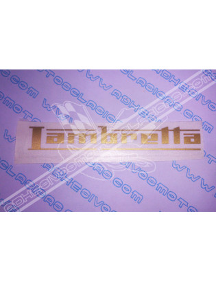 LAMBRETTA Sticker