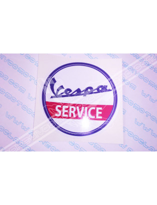 VESPA Service Sticker