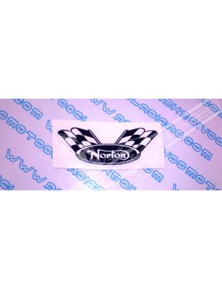 NORTON Flag Sticker