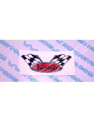 NORTON Red Flag Sticker