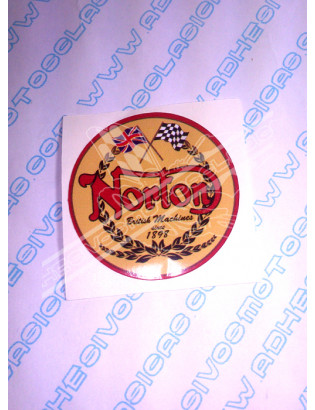 Adhesivo NORTON Logo