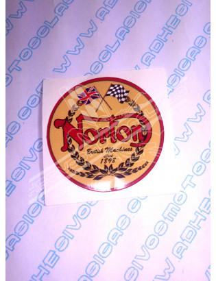 NORTON Logo Sticker