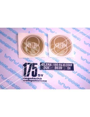 GILERA 175 Regolarita Stickers