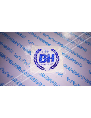 BH Blue Sticker