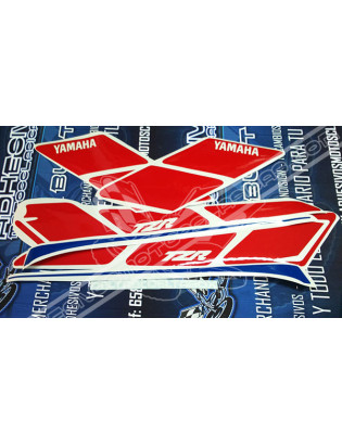 White YAMAHA TZR 80 Stickers 2