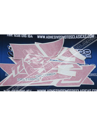 YAMAHA TZR 80 Deltabox Stickers