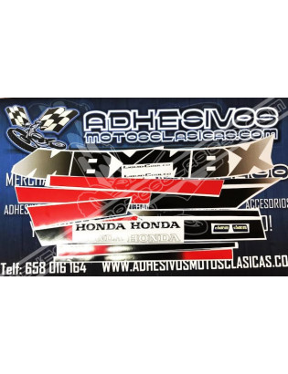 HONDA MBX Stickers