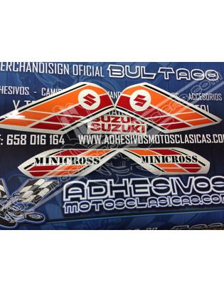 Adhesivos SUZUKI Minicross