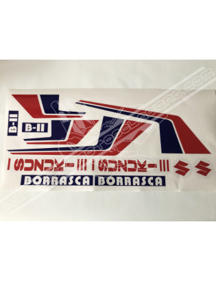 SUZUKI Borrasca B2 Stickers