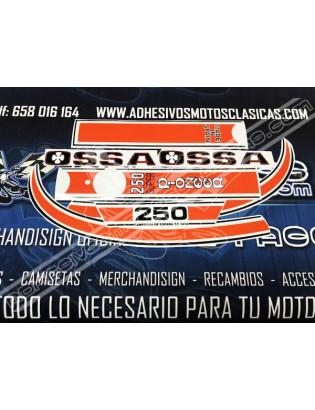Adhesivos OSSA 250 Super Pioneer