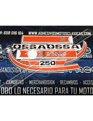 OSSA 250 Super Pioneer Stickers