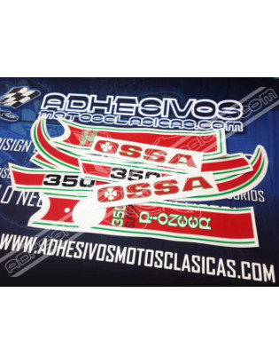 OSSA Super Pioneer Stickers