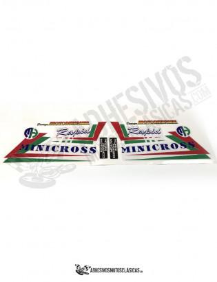Adhesivos MOTOR HISPANIA Minicross