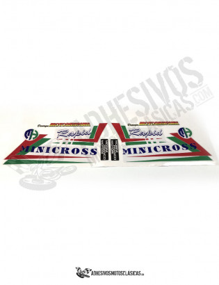 MOTOR HISPANIA Minicross Stickers
