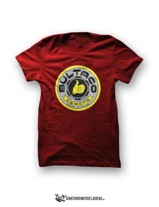 Camiseta BULTACO Logo Amarillo