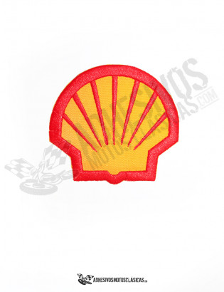 Parche bordado Shell