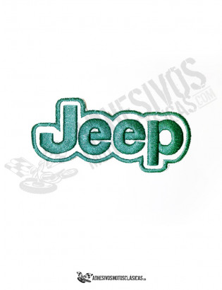 Parche bordado Jeep 1
