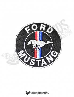 Parche bordado Ford Mustang 2