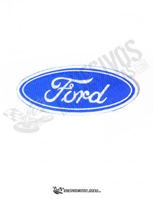 Parche bordado Ford