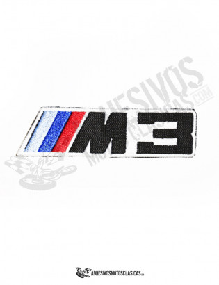 Parche bordado BMW M3 2