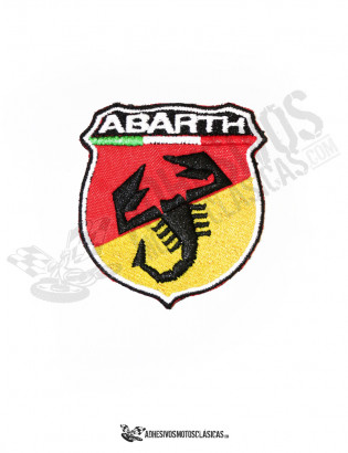 Parche bordado Abarth