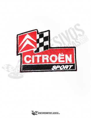 citroën sport patch