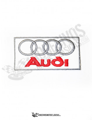 AUDI WHITE PATCH