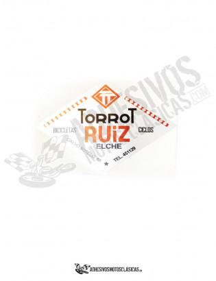 TORROT Ciclos Ruiz Stickers