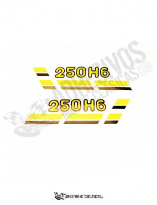 MONTESA Enduro 250 H6 Sides Stickers