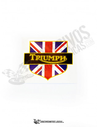 TRIUMPH Shield Sticker