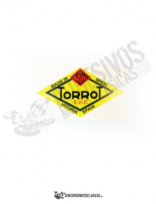 TORROT Yellow Sticker