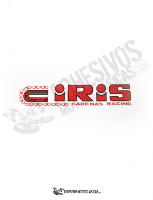 IRIS Chains 15cm Stickers
