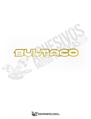 BULTACO TANK FUEL Stickers