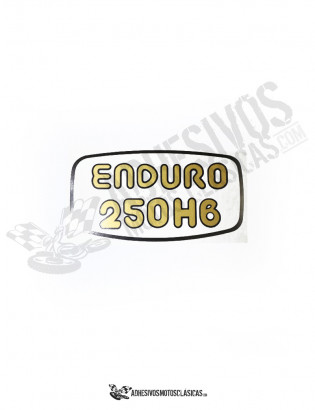 MONTESA Enduro 250 H6 Stickers