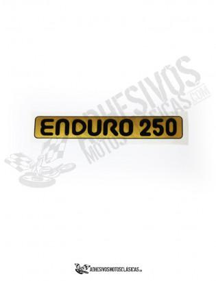 Adhesivo MONTESA Enduro 250