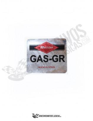 Adhesivo Cromado Betor GAS-GR
