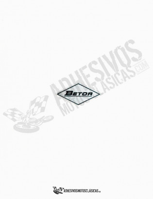 BETOR Silver Stickers