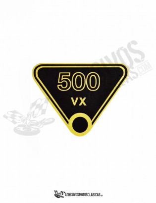 japauto 500 VX Sticker