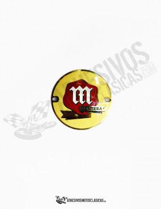 Emblema metalico MONTESA