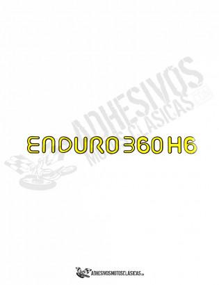Adhesivo MONTESA Enduro H6 360