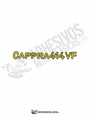 Adhesivos MONTESA Cappra 414 VF