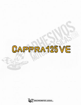 MONTESA Cappra 125 VE Stickers