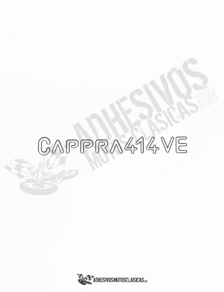 MONTESA Cappra 414 VE Stickers